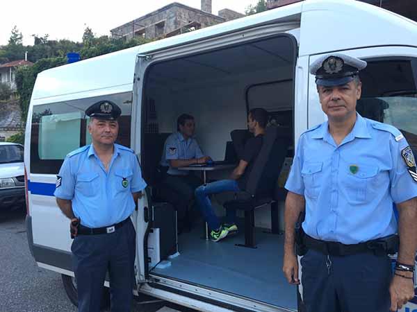 Εβδομαδιαίο Δρομολόγιο Κινητής Αστυνομικής Μονάδας Αχαΐας 18-9-2017 έως 24-9-2017