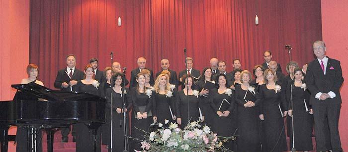 Στην Νάουσα η Χορωδία Αιγίου σε Φεστιβάλ Χορωδιών (vid)